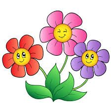 Image result for cartoon flowers