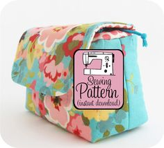Padded Camera Pouch PDF Sewing Pattern Instant by michellepatterns, $9.00