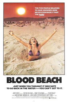 Grindhouse Film Festival's Screening of 'Blood Beach' at New Beverly Cinema Scary Movies, Great Movies, Scary Characters, 80s Movies, Cult Movies, Watch Movies, Action Movies, Blood Beach, Haute Tension