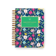 The Simplified Planner is a beautiful, joyful agenda for busy women in all seasons of life. Designed minimally on purpose, its open pages serve as a fresh start every day. We believe margin matters, and our mission is to inspire women to organize, simplify, and carve white space for the good stuff of life. The dailyedition covers 12months (with one dayper page and shared weekend pages) and features a wire-obinding and luxurious Mohawk Via paper.  MONOGRAMMING:This product is…