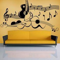 Decoración Paredes Arte Musical
