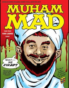 Former Editor in Chief of Cracked Magazine creates satire magazine cover.