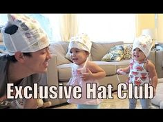 The EXCLUSIVE HAT CLUB! - August 10, 2015 -  ItsJudysLife Vlogs