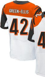 "$78.00--BenJarvus Green-Ellis White Elite Jersey - Nike Stitched Cincinnati Bengals #42 Jersey,Free Shipping! Buy it now:click on the picture, than click on ""visit aliexpress.com"" In the new page."
