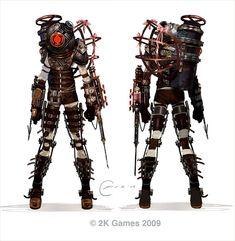 Steam Community :: :: Bioshock 2 Concept Art - Big Sister