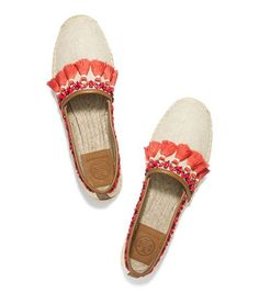 NIYAH FLAT ESPADRILLE - NATURAL/TAN