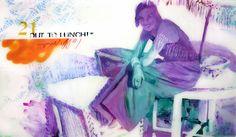 """CALL ME! Maria Bejarano Acrylic and Enamel on Plexiglass Collection: SAY CHEESE! """"A photographer's instruction just before taking a picture, in order to make people smile"""" La cultura Pop, imágenes de los años 50 en los medios de comunicación, separadas de su contexto y combinadas con graffitis, para mediante la ironía crear imágenes optimistas y vitales que hagan sonreír."""