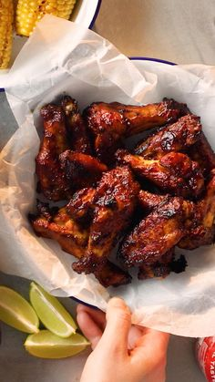 Chicken Wing Recipes, Meat Recipes, Appetizer Recipes, Dinner Recipes, Cooking Recipes, Healthy Recipes, Recipe Chicken, Meat Appetizers, Chicken Wing Marinade