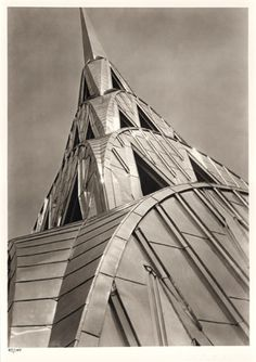 The Chrysler Building, The Queen of Art Deco New York City, New York by Margaret Bourke-White Chrysler Building, Harlem Renaissance, Bauhaus, New York City, Art Nouveau, Margaret Bourke White, Manhattan, Estilo Art Deco, Architecture Design