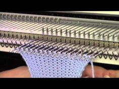 Good-Looking Needle Bind-Off for Machine Knitters - YouTube