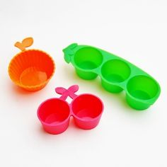 Luxury Silicone Fruit and Veg Cups for bento boxes from Eats Amazing UK