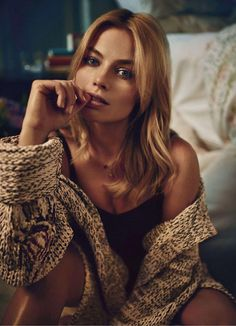 Margot Robbie by Beau Grealy for Marie Claire US