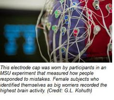 Anxious Girls' Brains Work Harder    -  Pinned by @PediaStaff – Please Visit http://ht.ly/63sNt for all our pediatric therapy pins
