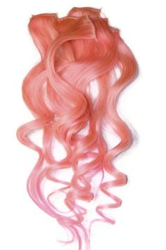 Cotton candy queen hair extension by candyapplelocks on etsy pastel pink clip in human hair extensions dip by candyapplelocks 4700 pmusecretfo Images