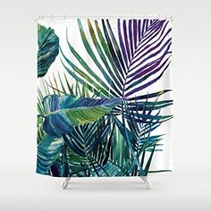 Gerenic The Jungle Vol 2 Shower Curtain 66-72inch Generic