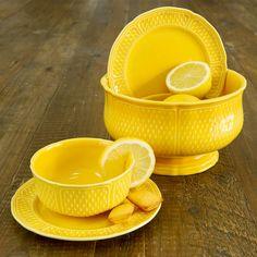 Gien Pont aux Choux Yellow
