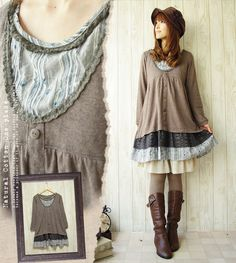 I usually don't like the layering, but I love and would wear this!