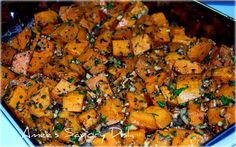 Rosemary Roasted Sweet Potatoes - SUPER yum!