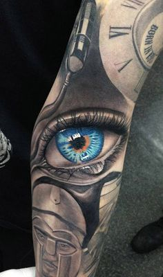 The Best 3D Eye Tattoos in the World, The Best 3D Eye Tattoos, Best 3D Eye…