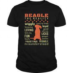 Beagle lovers: Beagle Loving Trusting Friendly Misunderstood T-Shirts Tee Shirts T-Shirts