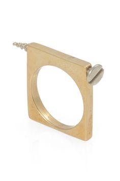 Artifice Hinge Ring by kelly wearstler  OMG!!! meeee wantzzz