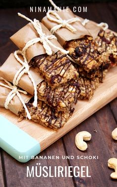 Diy Snacks, Vegan Recipes, Cooking Recipes, Pampered Chef, Dessert Recipes, Desserts, Soul Food, Granola, Food Photography