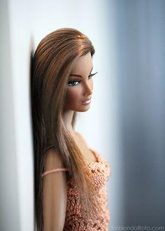 Gorgeous Barbie #black #beautiful hair