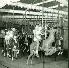 Lenape Park Carousel in 1948!