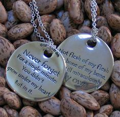 The Adoption Poem Touchstone Necklace. Perfect stepparent adoption necklace for Josh to give to Haley Adoption Poems, Adoption Party, Bob Marley, Adoption Agencies, Step Parenting, Adopting A Child, Sterling Silver Jewelry, My Heart, To My Daughter