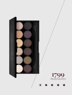 beauty bestseller amazon.de sleek makeup lidschattenpalette