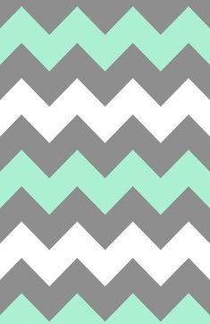 Mint White Grey Chevron Art Print by CreativeAngel - X-Small Chevron Phone Wallpapers, Grey Chevron Wallpaper, Chevron Art, Chevron Patterns, Cute Wallpapers, Print Wallpaper, Disney Wallpaper, Pattern Wallpaper, Cute Backgrounds