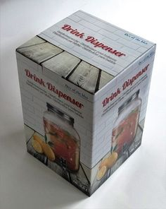 Ital adagoló Drink Dispenser, Decorative Boxes, Container, Drinks, Food, Home Decor, Drinking, Glass Beverage Dispenser, Beverages