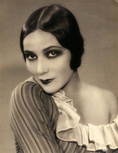 dolores del rio, 1920s, vintage, actress.