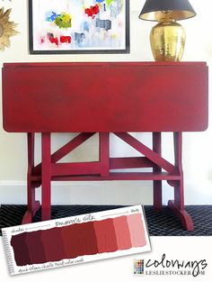 Table for a Small Space | Colorways with Leslie Stocker