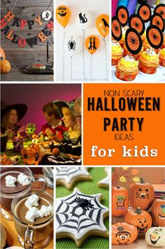Non Scary Halloween Party Ideas for Kids