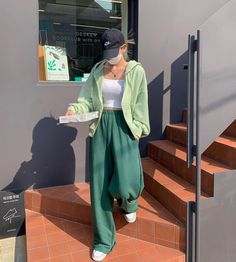 Ulzzang Fashion, Korean Fashion, Cute Casual Outfits, Pretty Outfits, Cute Fashion, Fashion Outfits, Fandom Outfits, Only Clothing, Mode Streetwear