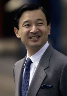 Prince Naurito of Japan arrives at Amalienborg Palace prior to the royal wedding of Crown Prince Frederik and Mary Donaldson May 14, 2004