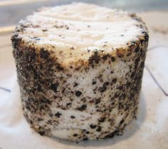 LOCAL - WOW!!!  Punk Rawk Labs - Smoked Macadamia Cheese with Pepper Crust  - Just got some at Northeast Co-Op - awesome!!