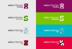 WebArchitecten web design studio online advertising logo design sub-branding