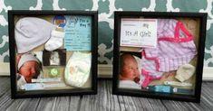 43 Ideas Baby Newborn Nursery Shadow Box For 2019 Shadow Box Memory, Diy Shadow Box, Baby Shadow Boxes, Memory Frame, Newborn Shadow Box, Military Shadow Box, Newborn Nursery, Baby Newborn, Girl Nursery