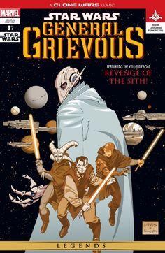 Star Wars: General Grievous (2005) #1 (of 4) #Marvel #StarWars #GeneralGrievous (Cover Artist: Rick Leonardi) Release Date: 12/15/2015