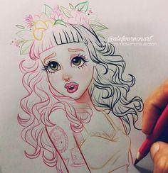 ~Alefvernonart~The Best Melanie Martinez FanArt!~   Crybabies Amino