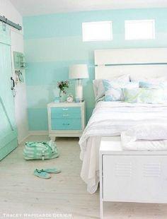 Kết quả hình ảnh cho rèm cửa xanh mint
