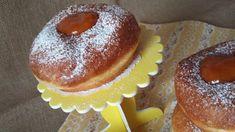 Diétás fánk kókuszolajban sütve Diabetic Recipes, Diet Recipes, Doughnut, Muffin, Pudding, Sweets, Cookies, Breakfast, Food
