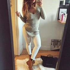 timberlands for women outfits - Google Search