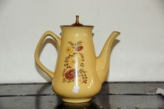 Taylor Smith Taylor Yellow Floral Teapot