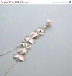 VACATION SALESHIP Sept// Elongated Silver by TwistedSilverDesign, $29.23