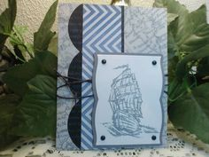 masculine card by eagles777 - Cards and Paper Crafts at Splitcoaststampers