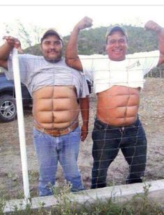 Instant abs. Don't wanna work out and spend lots of money on diets and weight loss programs? Well, there you have it