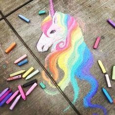 Cuando eres fan de los unicornios y demuestras que eres todo un artista